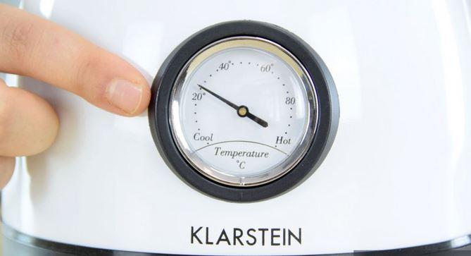 Hervidor del termómetro analógico
