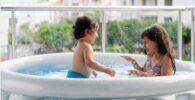 piscina inflable terraza balcon